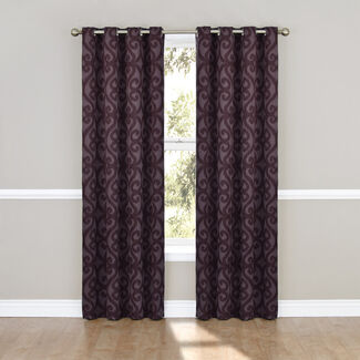 Eclipse Patricia Blackout Grommet Curtain Panel